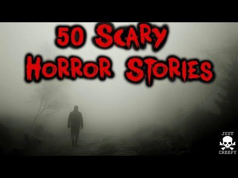 50 Scary Stories | Paranormal, Skinwalker, Wendigo, Stalker, Forest, Alien Abduction, Halloween