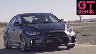 Front Wheel Drive? No Prob! Drifter Odi Bakchis Rips ARK Hyundai Elantra