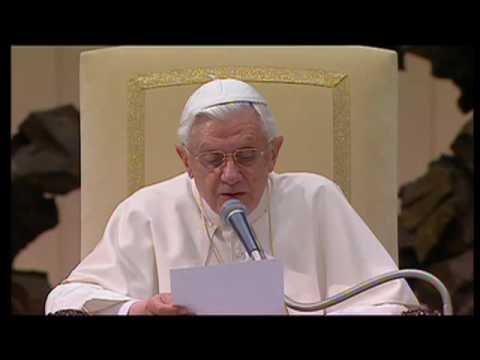 Benedicto XVI explica la 'Suma Teológica' de Santo Tomás de Aquino