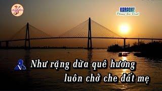 Vọng cổ: Duyên Nợ Xứ Dừa - [Karaoke] song ca