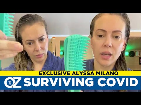 Alyssa Milano on Surviving Covid-19 and Extreme Hair Loss