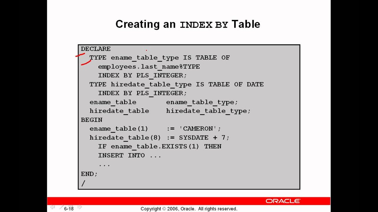 07-Oracle PL-SQL(Working With Composite Data Types Part 2) By Eng-Helal  Ahmed