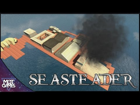 Building A City In The Sea ! SeaSteaders