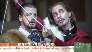 Izgalommal fogadták a lengyelek az Operettet - 2014.10.31.Péntek - tv2.hu/mokka