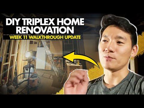 DIY Home Renovation – Week 11 Walk Through