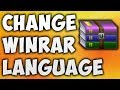 How To Change WinRAR Language - The Easiest Way To Change Language In WinRAR [BEGINNER'S TUTORIAL]