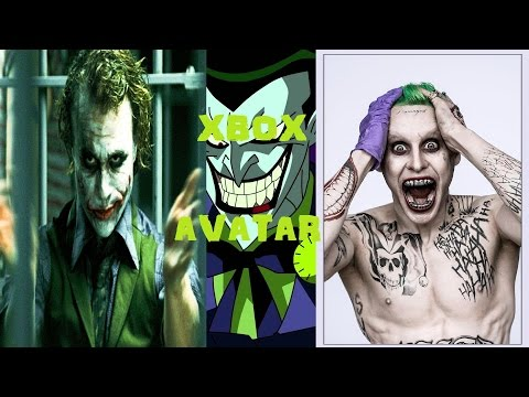 How To Make Your XBOX Avatar Look Like The Joker (Hamill, Ledger, Leto)