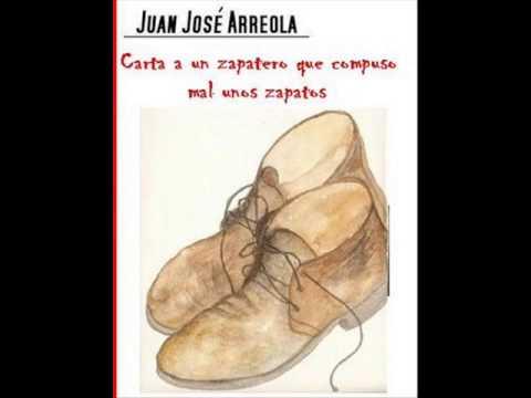 """""""Carta a un zapatero"""" de Juan José Arreola por Javier Aranda"""