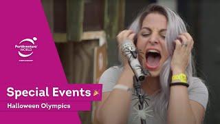 Halloween Olympics en PortAventura Park | Itarte Vlogs - Swan The Voice -   Gorgeous Movies