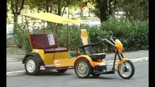 видео Kenguru Electric Car - электрический автомобиль для инвалидов