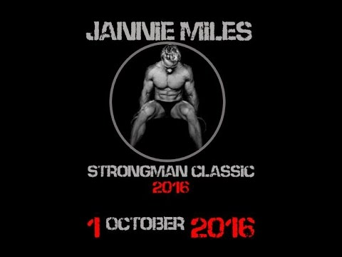 Jannie Miles Strongman Classic 2016