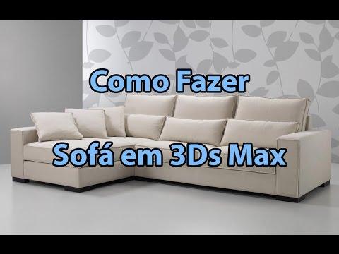 Tutorial - Fazendo um sofá em 3D Studio Max
