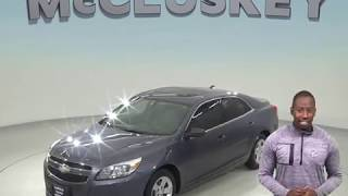 A98602WT Used 2013 Chevrolet Malibu LS FWD 4D Sedan Blue Test Drive, Review, For Sale -
