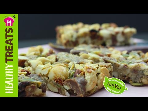 Trail Mix Granola Bars - Vegan, Gluten Free, Sugar Free Recipe