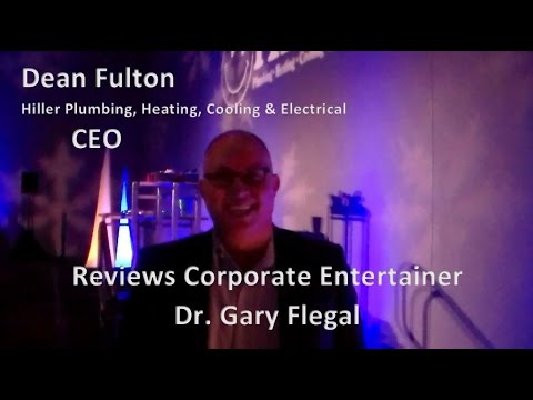 Hiller Plumbing CEO  Reviews Corporate Entertainer Dr