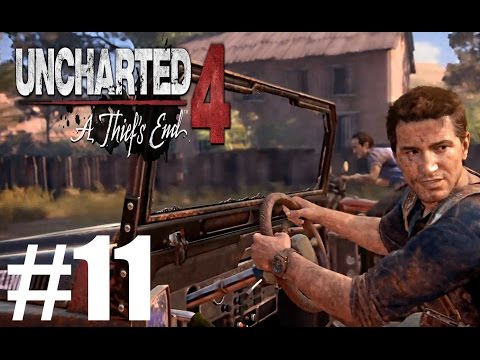 Uncharted 4 Gameplay Playthrough #11 - Hidden in Plain Sight (PS4)(FaceCAM)