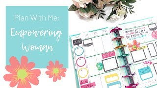 Plan With Me | Empowering Woman