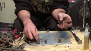 Как сделать пули для пневматики How to make bullets for airguns