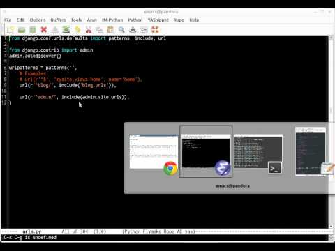 Building a blog in 30 mins with Django (Screencast HD)