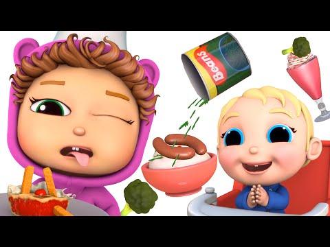 Crazy Food #2 | Sausage Milkshake | Baby Joy Joy On Clap Clap Baby