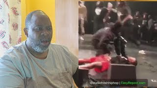 Dad Reacts to XXXTENTACION GETTING KNOCKED OUT & SECURITY FOOTAGE!