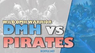 Hearthstone | DMH vs Pirates | Wild Dead Man's Hand Warrior | Legend Gameplay