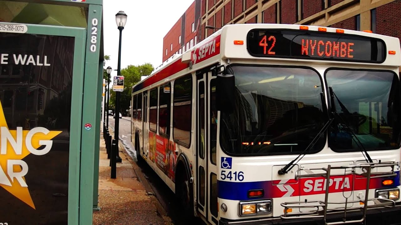 Septa Route 42 Bus At Spruce St Amp 34th St Youtube