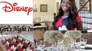How To Plan A Fabulous Girls' Night In #disneyside Thumbnail