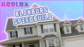 ROBLOX | Bloxburg Modern House Speedbuild