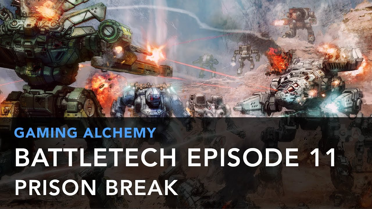 BattleTech Episode 11: Prison Break – Locke Vincent