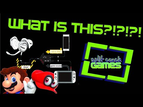 Nintendo Switch Online Chat, WHAT IS THIS?! (Split Couch Games podcast)
