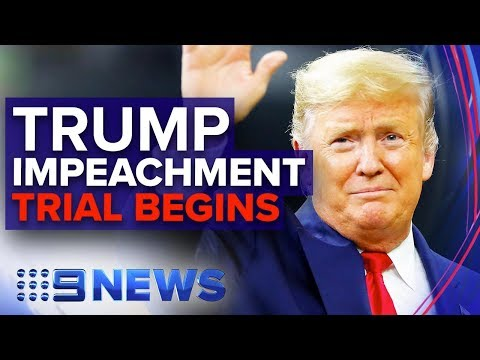 Former White House Insider Reveals Insight Into Trump Impeachment Proceedings | Nine News Australia