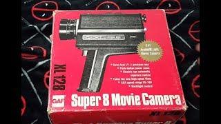 GAF XL/128 Super 8 Vintage Movie Camera New In Original Box