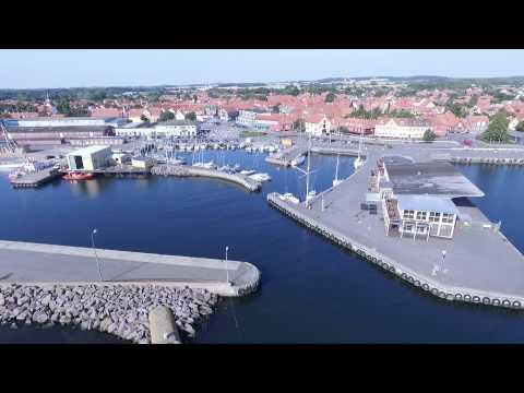 Nexø Havn på Bornholm