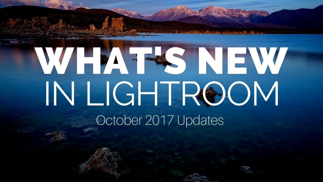 Lightroom CC Is Now Lightroom Classic (And a New Product is