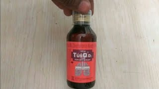Tusq DX syrup review | सुखी खाँसी की दवा।