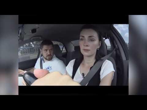 Как мужья учат жен водить машину