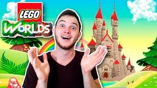 СКАЗОЧНЫЙ ЗАМОК КОРОЛЯ | [Lego Worlds #5]