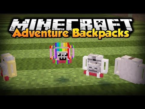 лаунчер майнкрафт с модом backckpack #10