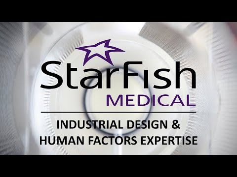 StarFish Medical Industrial Design and Human Factors Expertise