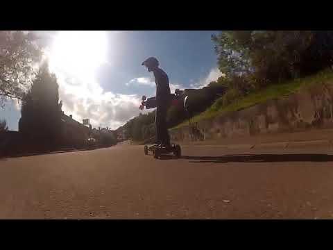 Electric Skateboard Fun Hohenstaufen