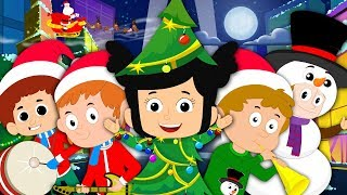 We Wish You Merry Christmas | Xmas Songs For Preschool| Nursery Rhymes For Kids| Song For Toddlers