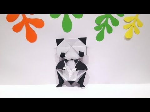 Origami Giant Panda Tutorial (How to fold)