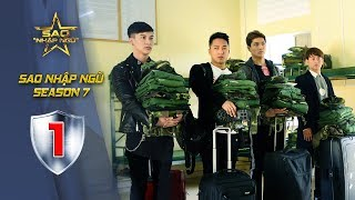 Sao nhập ngũ Mùa 7 - Tập 1 Full HD | Ưng Đại Vệ, Châu Khải Phong, Dũng Bino, TIM