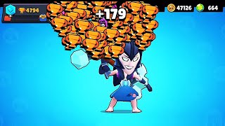 MORTIS NONSTOP to 500 Trophies! // BrawlStars