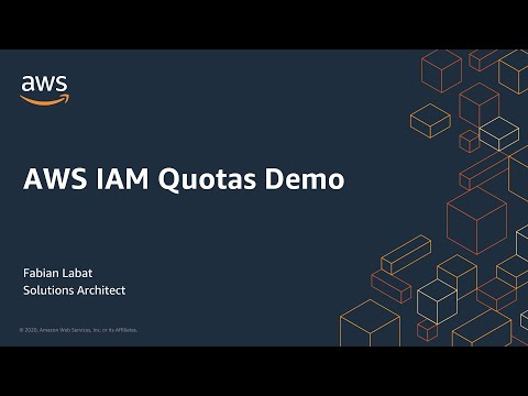 AWS IAM Quotas Demo