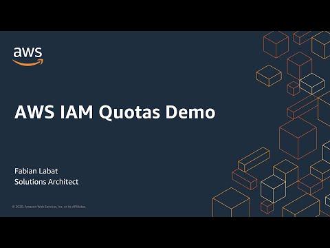 AWS IAM Quotas Demo