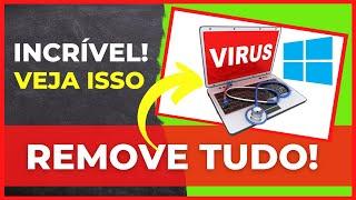 Como Tirar vírus do PC sem formatar atualizado 2018
