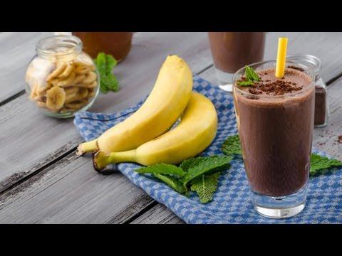 Бананово шоколадный милкшейк