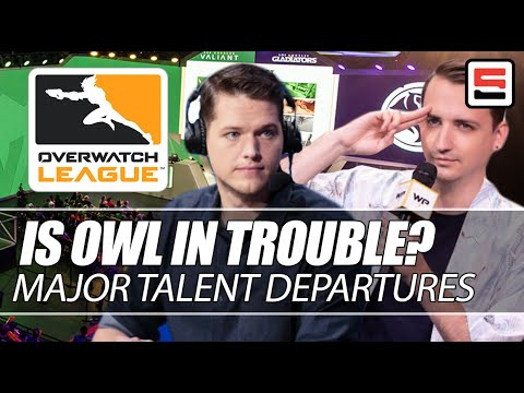 Is Overwatch League In Trouble? Caster Departures And A Crazy Off-season | ESPN Esports